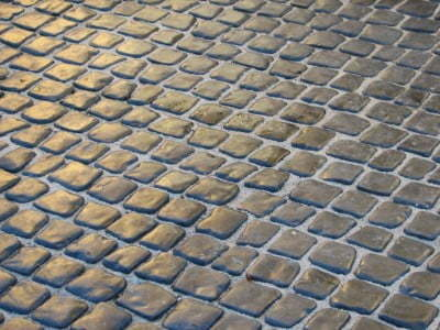 Cobblestone Driveway in Gloucester  by Gloucester Paving Contractors